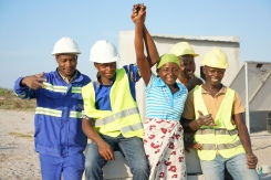 Molia celebrates achivement so far with the costruction company